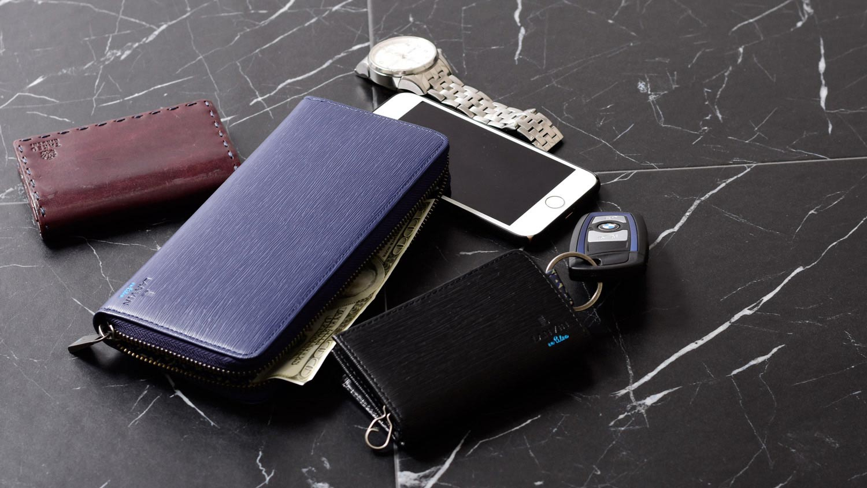 ランバンオンブルー バンパーカー財布