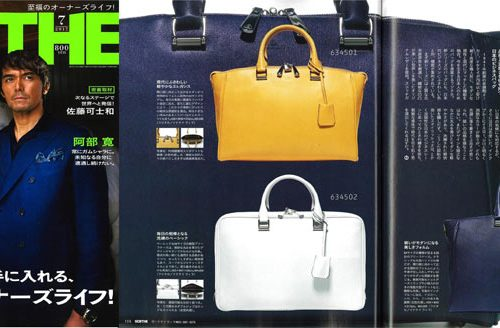 GOETHE 7月号掲載の鞄!②